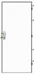 Bezpečnostní dveře K245/2R - Zvýš. požární odolnost