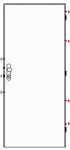 Bezpečnostní dveře K245/2 - Zvýš. požární odolnost